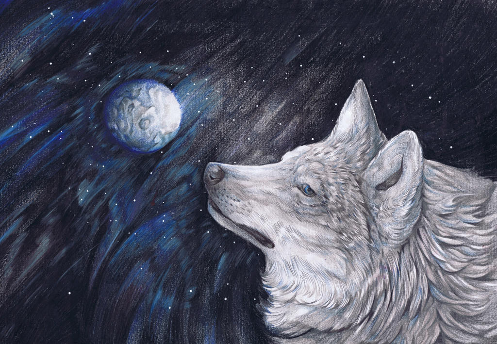 Light Side Moon by dawndelver