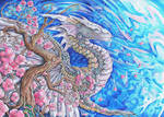 Cherry Blossom Dragon
