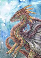 Earth Dragon by dawndelver