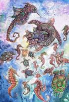Under the Sea by dawndelver