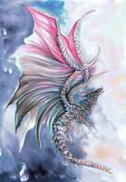 Dark Opal Dragon by dawndelver