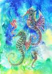 Seahorse Family