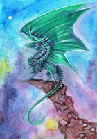 Emarld Dragon 2 by dawndelver