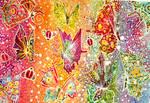 Batik Rainbow Butterflys