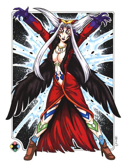 Ultimecia - Final Fantasy VIII by gb2k