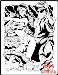 50 Ft Woman vs Godzilla