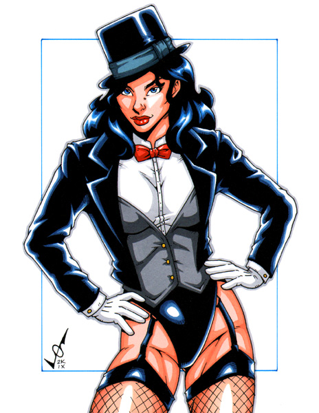 Zatanna commission 2 by gb2k