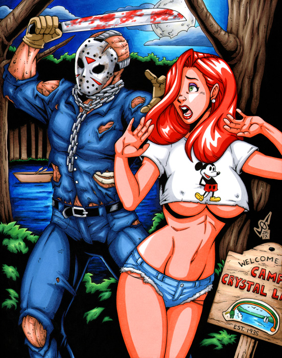 Jessica - Friday the 13th by gb2k