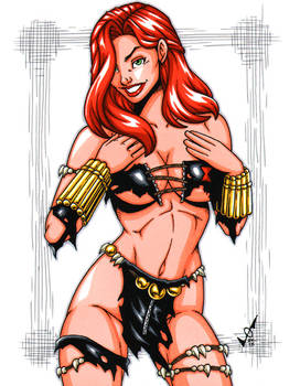 Savage Land Black Widow