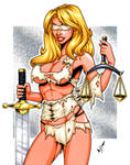 Lady Justice commission 2