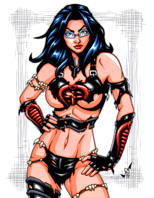 Savage Land Baroness by gb2k