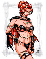 Savage Land Black Queen