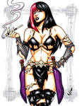 Savage Land Gothica commission