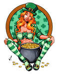 St. Patty's Day Babe