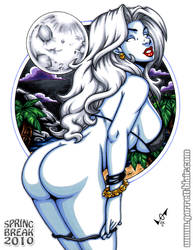 Spring Break Lady Death by gb2k
