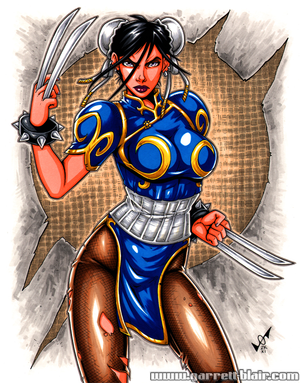 X-23 Chun Li commission by gb2k