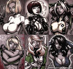 French Sketch Cards 4