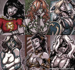 French Sketch Cards 5