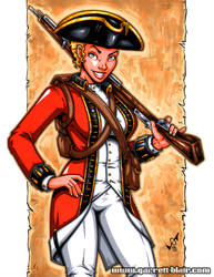 Redcoat commission by gb2k
