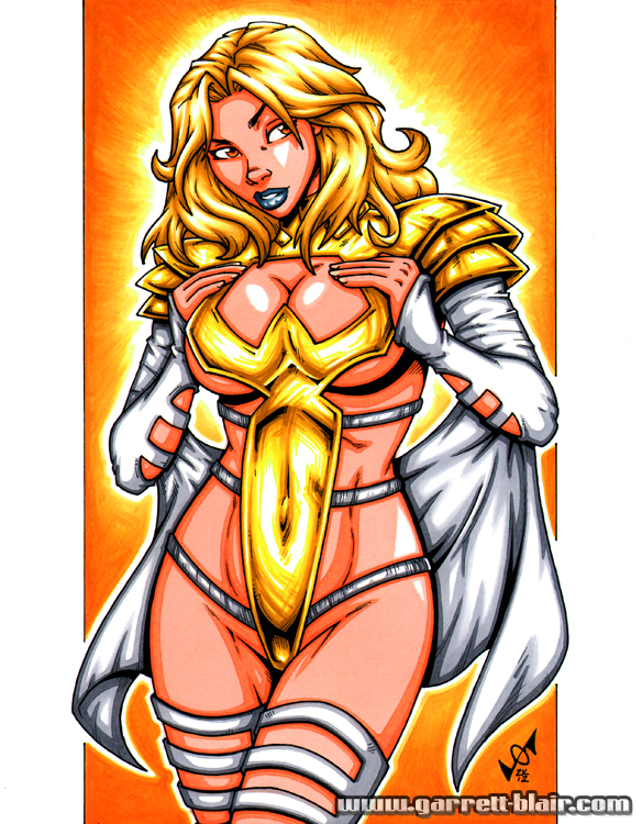 White Queen Phoenix Force 5 by gb2k