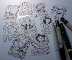 BioShock cards WIP by gb2k
