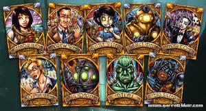 BioShock sketch cards