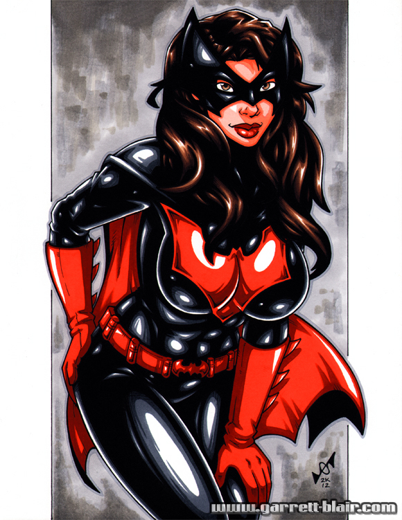 Busty Batwoman by gb2k