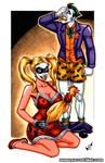 Harley + Joker commission