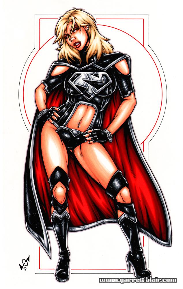 Evil Supergirl Bodyshot by gb2k