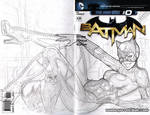 Catwoman cover WIP