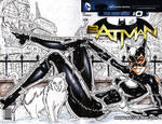 Catwoman cover WIP 4 by gb2k