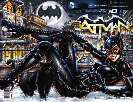 Catwoman BR Sketch Cover