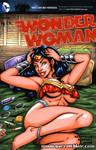 Wonder Woman lingerie sketch cover