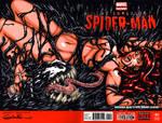Mary Jane + Venom Symbiote sketch cover