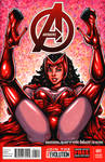 Scarlet Witch sketch cover