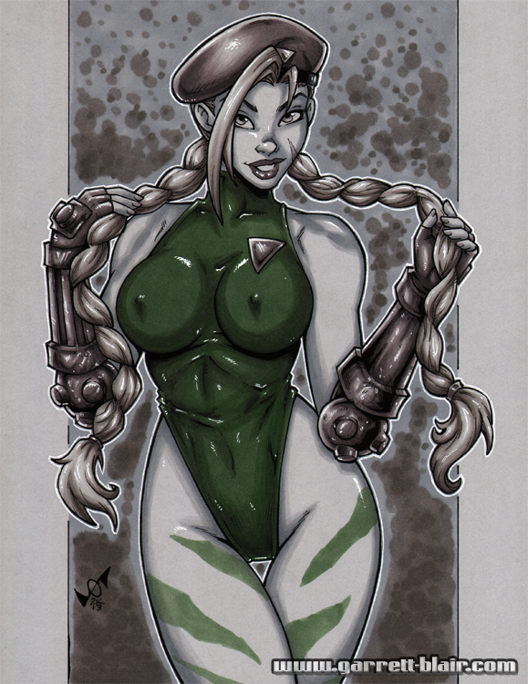 Cammy greytone by gb2k