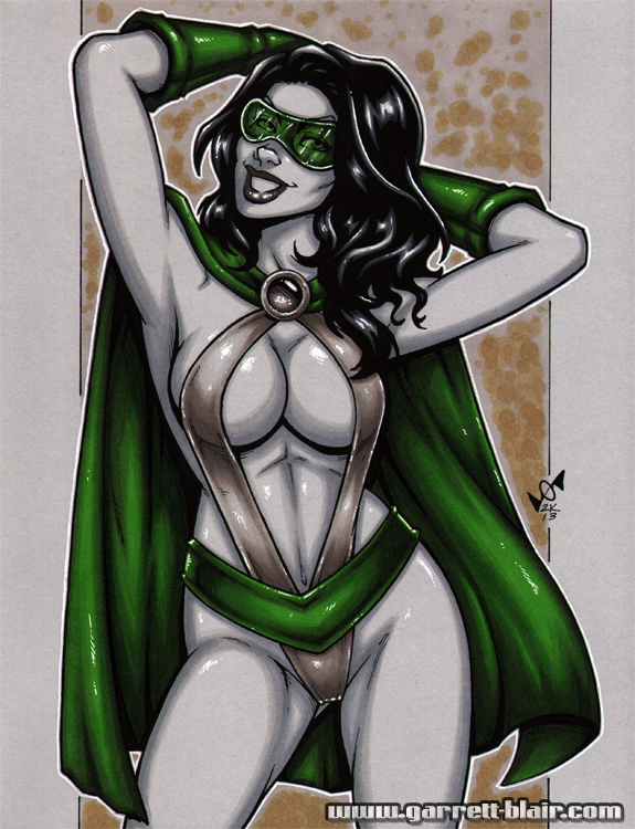 Phantom Lady greytone by gb2k
