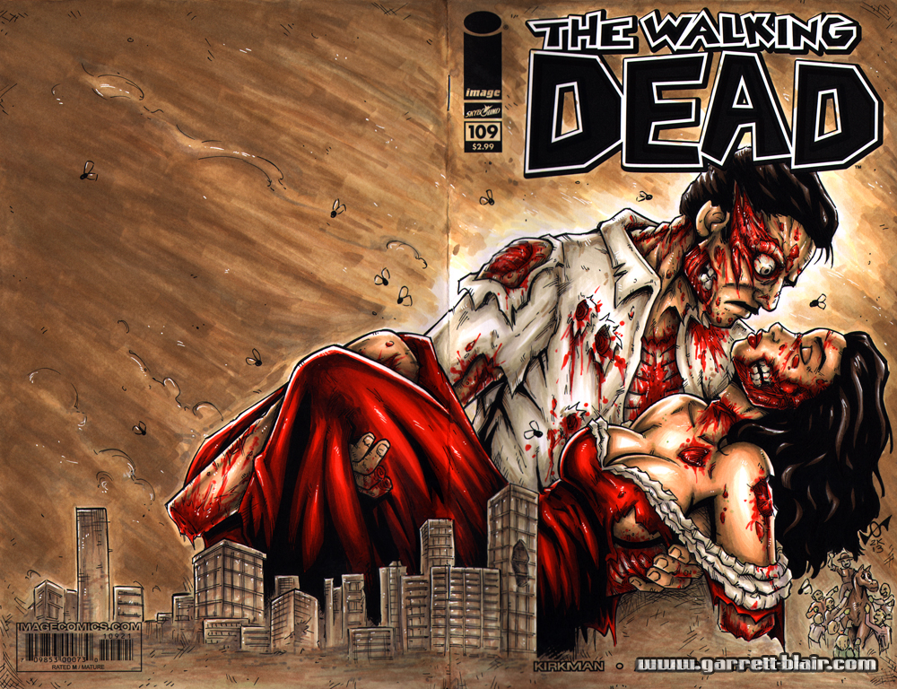 Gone with the Dead sketch cover by gb2k