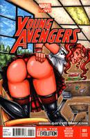 Black Widow Schoolgirl sketch cover by gb2k