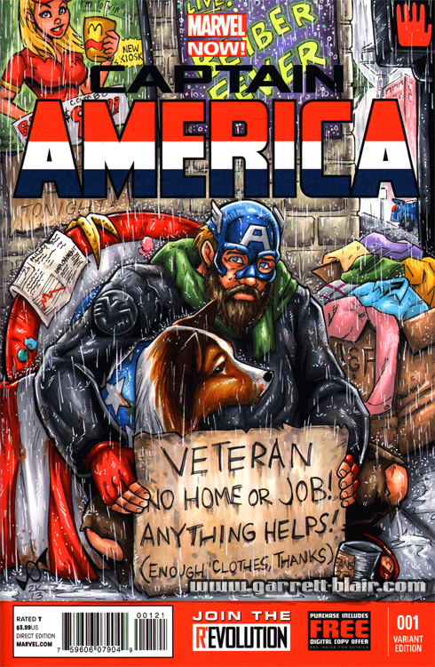 Homeless Cap sketch cover by gb2k