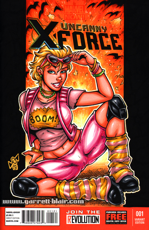 Boom Boom sketch cover by gb2k