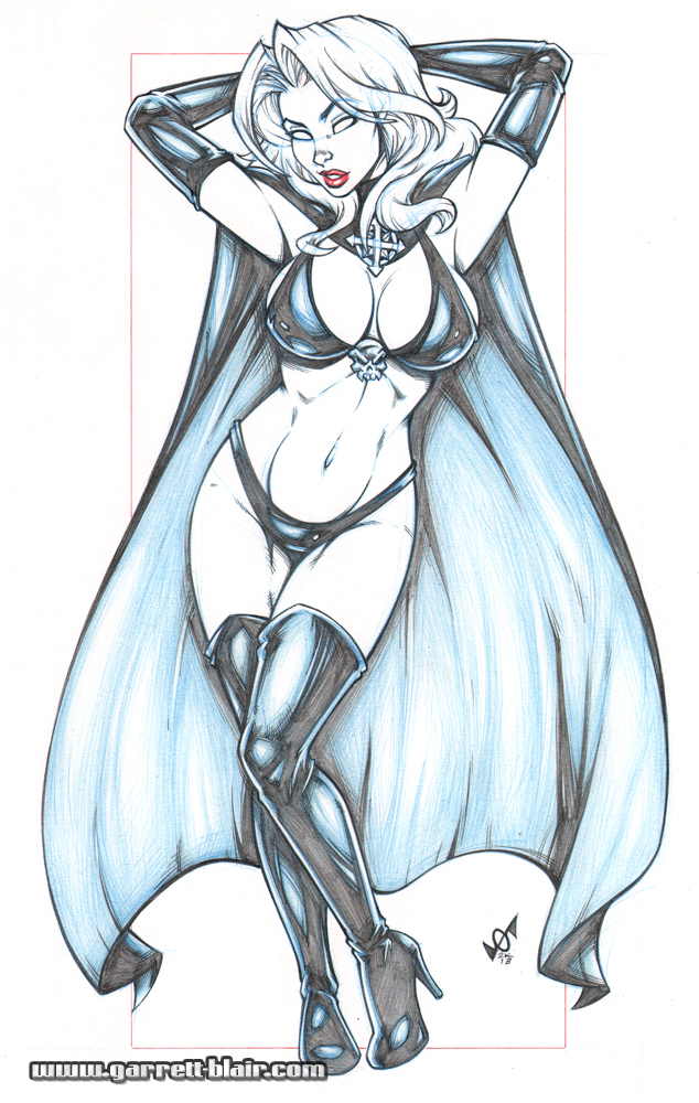 Lady Death bodyshot pencils by gb2k