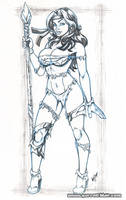 Savage Rogue bodyshot pencils by gb2k