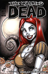 Sally bust sketch cover