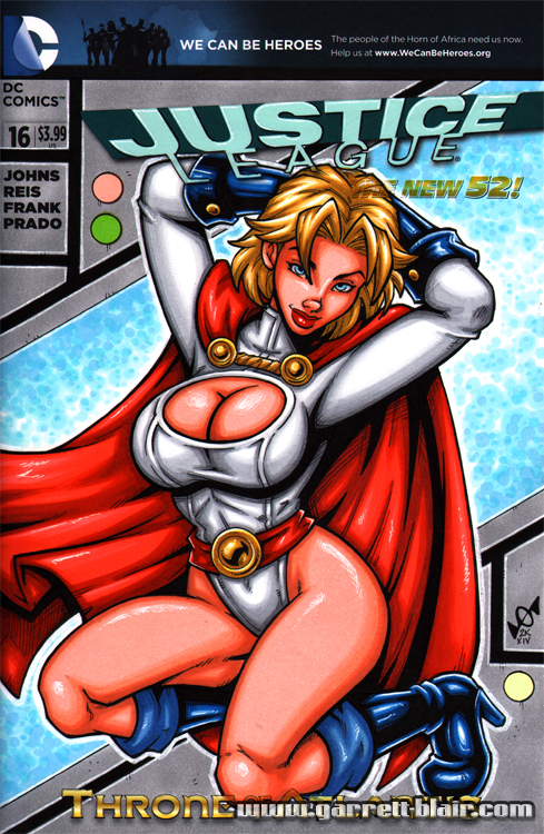 Powergirl sketch cover by gb2k
