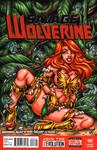 Savage Land Phoenix sketch cover
