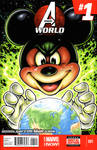 Mickey's World sketch cover