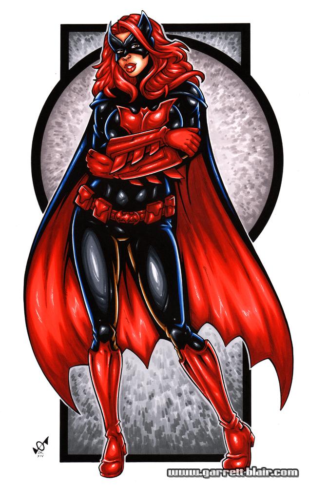 Batwoman bodyshot by gb2k