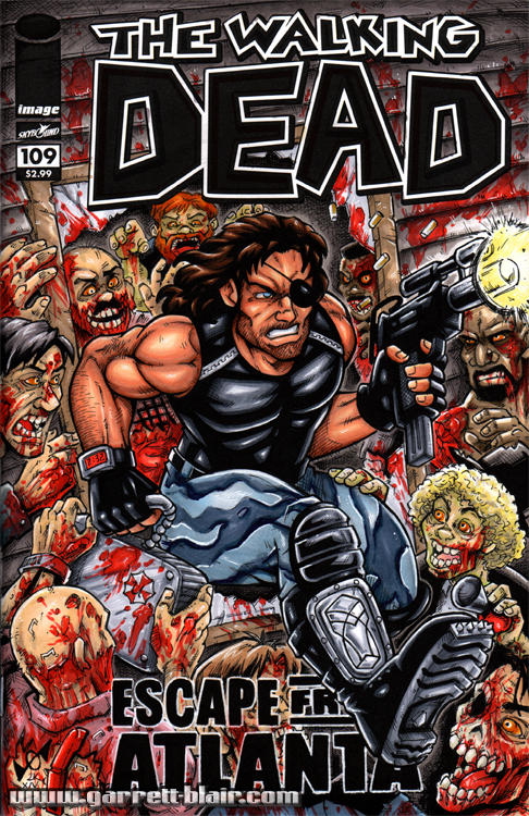 Escape from Atlanta sketch cover