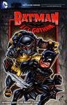 Li'l Batman vs Predator sketch cover